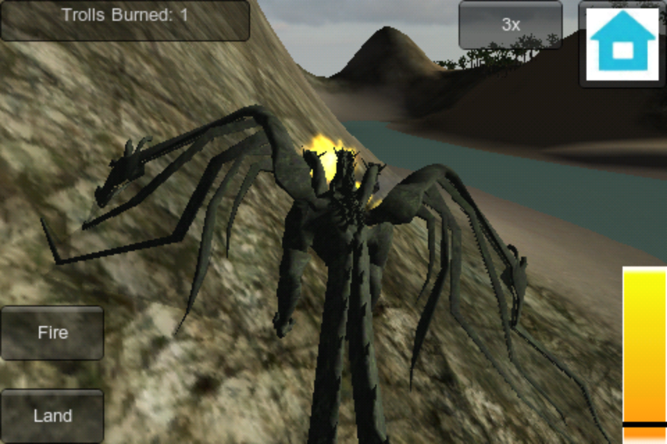 Screenshot Dragon Fire 3D